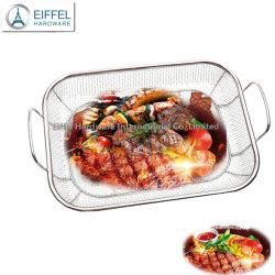 Grille en acier inoxydable Panier Le panier de légumes sur le fil de cuisine Rack