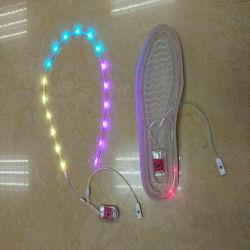Blinkendes Schuh-Licht Schuh-helle Teil-Schwingung-wasserdichtes Blinkensled