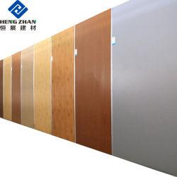 OEM het Verwarmen Isolatie het Geschilderde Aluminium/Blad van het Aluminium met Marmeren/Houten Korrel