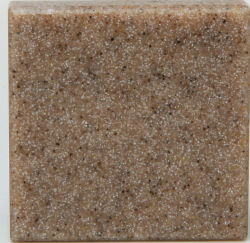 Satin antibatterico Polyester 100% Antique Rectangle Solid Surface per Home (CHB076)