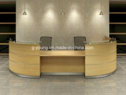 Comptoir de réception personnalisés en bois de placage MDF