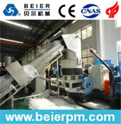 het Recycling van de Plastic Film 80-120kg/H PE/PP/van de Zak en de Lopende band van de Agglomeratie Pelletizing/Granulation