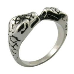 Caliente la venta de animales de la moda Anillo de la Serpiente
