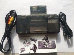 Os dados Frog Design Retro consola de jogos portátil do Console de 3,0 polegadas construído em 818 jogos diferentes suporte para Neogeo Gbc/FC/CP1/CP2/GB/GBA