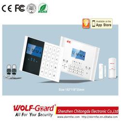 Wolf-Guard の熱警報システム、盗難防止および家の保証のための GSM 火災警報システム