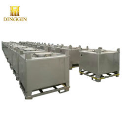 Tanque de IBCS de aço inoxidável 1000L para o vinho utilizado