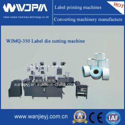 La station haute vitesse automatique double étiquette WJMQ Die-Cutting Machine (-350)