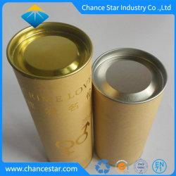 Cosmétiques personnalisé et le thé emballage biodégradable tubes de papier kraft