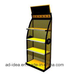 Gondole présentoirs pour la médecine / Affichage d'exposition de métal