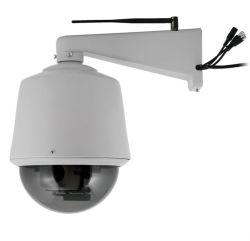 鍋または傾きまたはズームレンズの屋外のドームIPネットワークCCTVのカメラが付いている800tvl 1.0 Megapixel HD PTZ IPのカメラのWiFiの無線電信