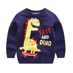 Winter-Strickjacke der neuen Form-Vertiefungs-Verkaufs-Kinder, Kind-Pullover-Großverkauf
