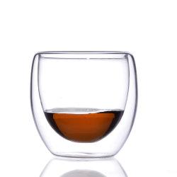 Kop van het Glas van de Muur van de Hoogste Kwaliteit ABA6667 Relea de Dubbele met Thee