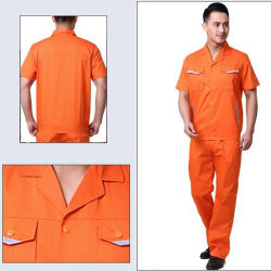 La coutume de construction en milieu de travail unisexe uniforme, de salopettes, vêtements de travail