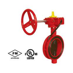 UL/FM Oblate-Typ 300psi Drosselventil mit Besetzer-Schalter