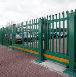 Euro Style без постоянного D/W Пале металлические Palisade стены безопасности, стали Palisade фехтование дизайн