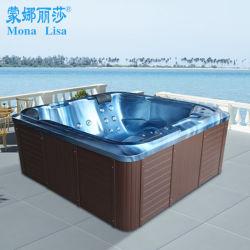 Vasca di bagno praticante il surfing di massaggio quadrato acrilico esterno della STAZIONE TERMALE 2016 M-3362