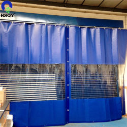 Tenda di plastica libera polare del PVC della tenda della striscia del PVC di conservazione frigorifera