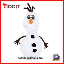 Фаршированные замороженные Олаф Обнимаю Рождество снежную бабу Рождество мягкие игрушки
