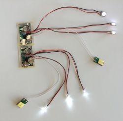 Pulsante LED. Modulo di scossalina del LED, regalo promozionale