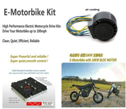 48V/72V/96V/120V BLDC Motor für elektrisches Motorrad, Auto, Boot, E-Karting