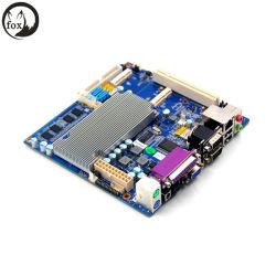 Motherboard Mini-Itx mit Atom D525, an Bord 1333 DDR3 2g des Speichers, Karte der Unterstützungs3g SIM, SSD, Kanäle 6COM
