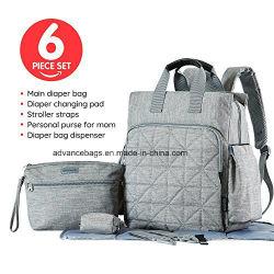 Новый многофункциональный Mommy рюкзак Diaper Bag водонепроницаемый детский пеленок Мами мешок