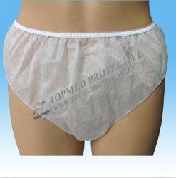 Sous-vêtements estampés remplaçables pour les dames, culottes non-tissées de Leadies avec l'impression