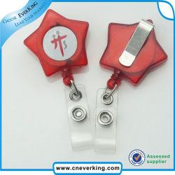Pvs ремешка Star Пластиковые формы логотипа подарок для продвижения мотовила