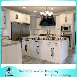 Mobilia moderna bianca dell'armadio da cucina degli armadi da cucina di legno solido del portello dell'agitatore/mobilia della cucina/lacca e mobilia di Home&Basket