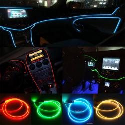 Câble à fibre optique de lumière pour la décoration intérieure de voiture nouvelle atmosphère lumière EL remplacement fil