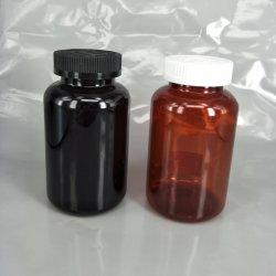 500cc Pet plastic ronde fles met dop voor Pill verpakking