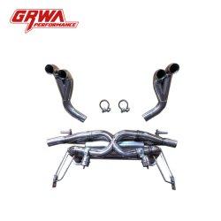 Piezas de alta calidad Grwa Auto Sistema de escape con válvulas para Audi R8 V8