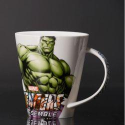 Tazza di ceramica promozionale della dolomia della tazza di caffè con il reticolo del fumetto