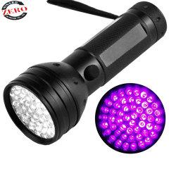 51 395 Nm LED UV lumière noire Scorpion Chasseur d'inspection du détecteur de torche lampe de poche