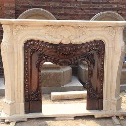 Afdekplaat van de Open haard van de Steen van de Decoratie van het huis de Marmeren