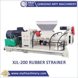 Xjl-200 de 8 pulgadas de tamiz de la goma de caucho para el filtrado en la planta de fabricación de productos de goma