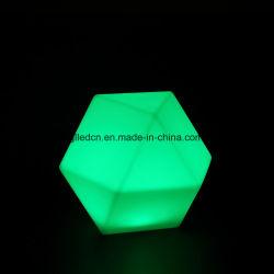 Changement de couleur RVB à LED en plastique de meubles de l'Événement Lumières décoratifs modernes pour la maison