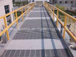 Les trottoirs et les rampes, Handrailing en fibre de verre, GRP mains courantes, de matériaux de construction ;;; clôture garde barrière