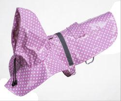 Personalizar la impresión de Venta caliente con capucha mascota ropa impermeable