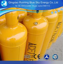 Gas-Zylinder des Edelstahl-Acetylen-Gas gefüllter innen Acetylen-10L mit Stahlventil