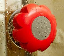 無線花の浴室の防水健全な吸引のBluetoothのスピーカー