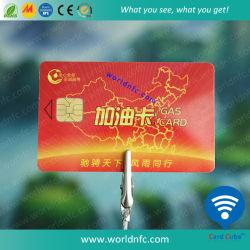 PVC de alta calidad SLE5542 Chip De Contacto Smart Card