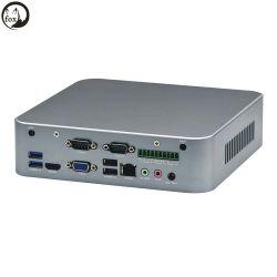 HTPC-4615Z 2018 Nouveau Mini-ITX Core i5 Boîte HTPC PC avec 2 RS232 1*10 Broche Phoenix