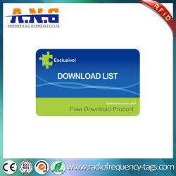 طباعة CMYK الرمز الشريطي PVC بطاقات بلاستيكية Cr80 مقاس قياسي لـ بطاقة الولاء