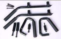 Stahlzupacken-Griffe für JeepWranglerWrangler Jk Metallgriff-Schwarz-feste Stahlzupacken-Stab-Auto-Zubehör