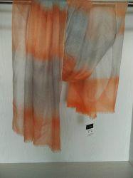 Teinture colorée châle de cachemire