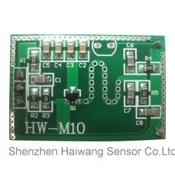T8 관을%s 10.525GHz 마이크로파 센서 모듈 (HW-M10)