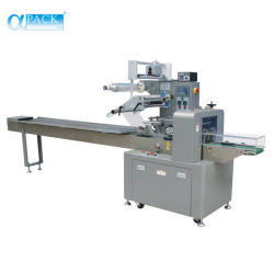 Contenedor de pañales de flujo horizontal Ajuste de máquinas de Embalaje Embalaje (AHP-450-S3).