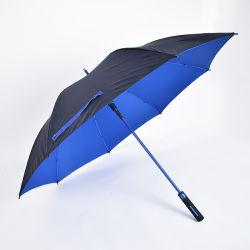 كبيرة صامد للريح عالة مطر هبة لعبة غولف مظلة مع علامة تجاريّة طباعة لأنّ ترقية