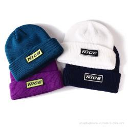 مصنع بالجملة شتاء قبّعة نساء/رجال [بني] يحبك قبّعة دافئ [بني] أغطية
